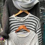 Pull tricoté a la main 100% laine